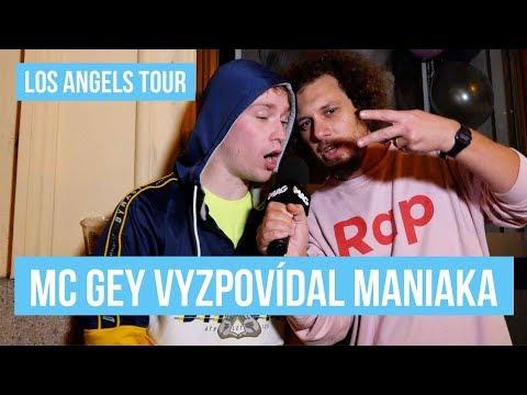 MANIAK A MC GEY, LOS ANGELS TOUR - PRAHA