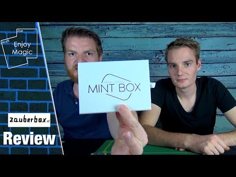 Mintbox (Daniel Garcia) & Amazebox (Mark Shortland) || Enjoy Magic Review