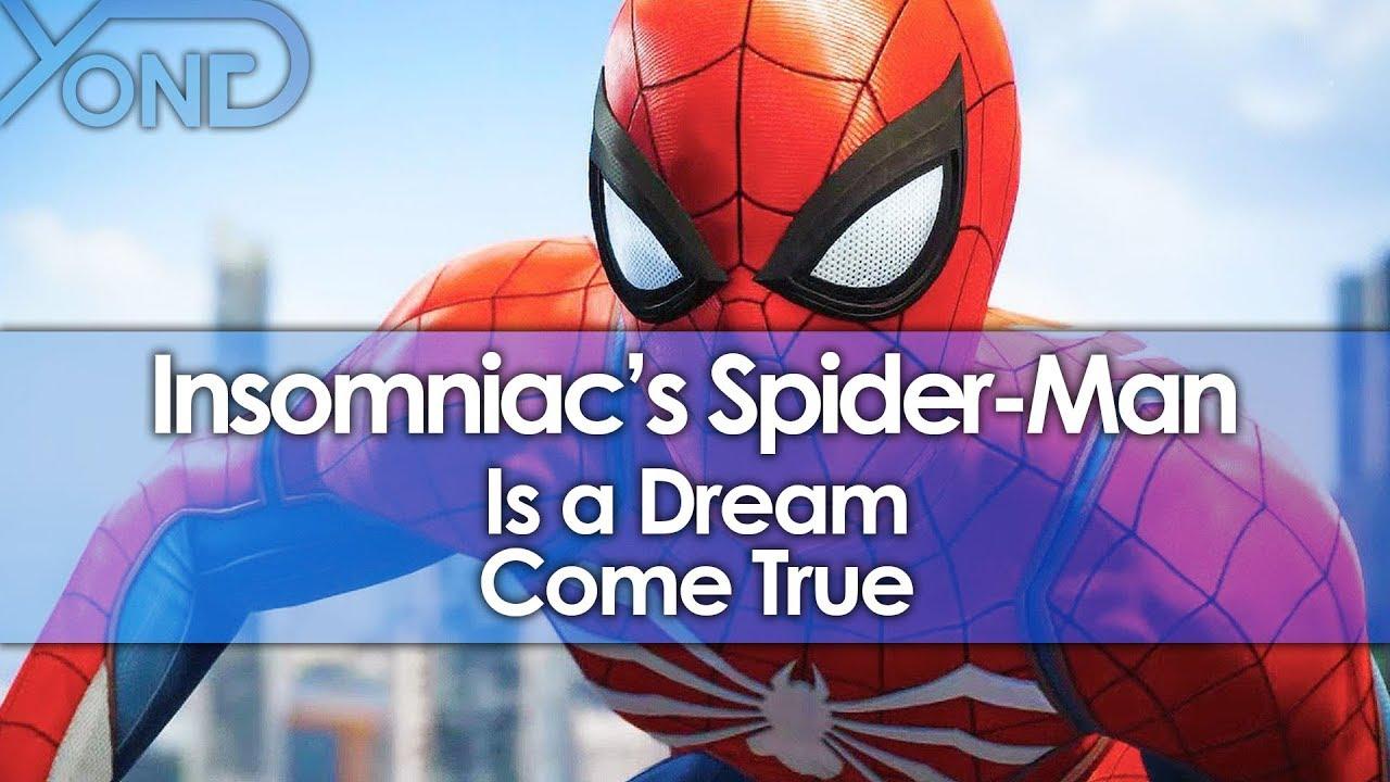 Insomniac's Spider-Man is a Dream Come True