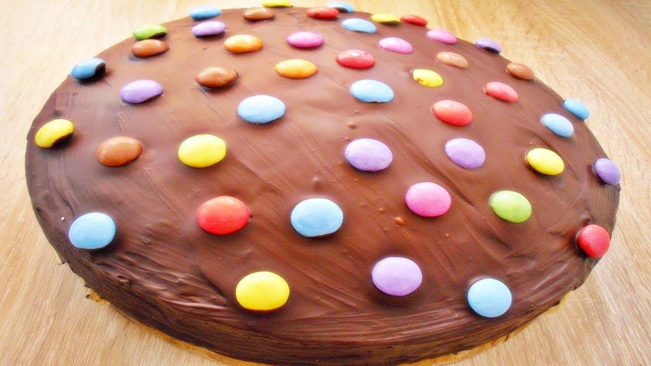 Rezept Saftiger Schokoladenkuchen Mit Smarties Chocolate Cake