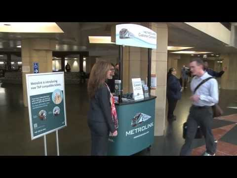 Metrolink TAP-enabled tickets