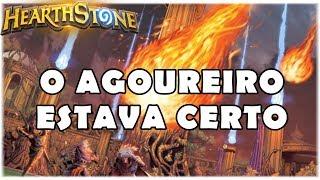 HEARTHSTONE - O AGOUREIRO ESTAVA CERTO! (WILD FREEZE MAGE)