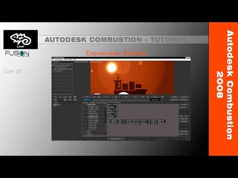 Tutorial Autodesk Combustion 2008 - Expresiones Iniciación
