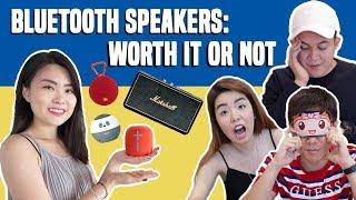 [SHOPEE TRIES] $25 vs $425 Bluetooth Speakers Blind-Listening Test