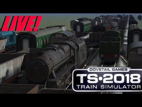 Train Simulator 2018 - Shunting Challenge (Live!)