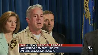 Las Vegas Police give update on mass shooting