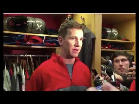 Giants Eli Manning emotional reaction to being benched for Geno Smith