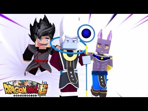Minecraft Drag Ball Super  A VIAGEM PARA O PLANETA DO WHISS !!! EPISODIO 12