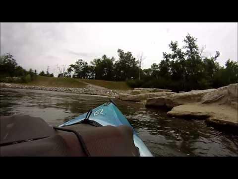 Mad River whitewater park Dayton, Ohio SW Ohio Kayaker