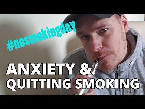 Anxiety & Quitting Smoking - #nosmokingday