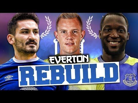 REBUILDING EVERTON!!! FIFA 17 Career Mode