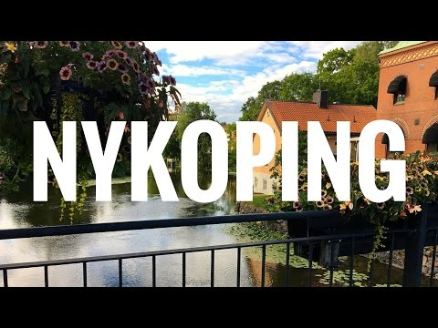 Train to Nykoping, close to Skavsta airport, Sweden
