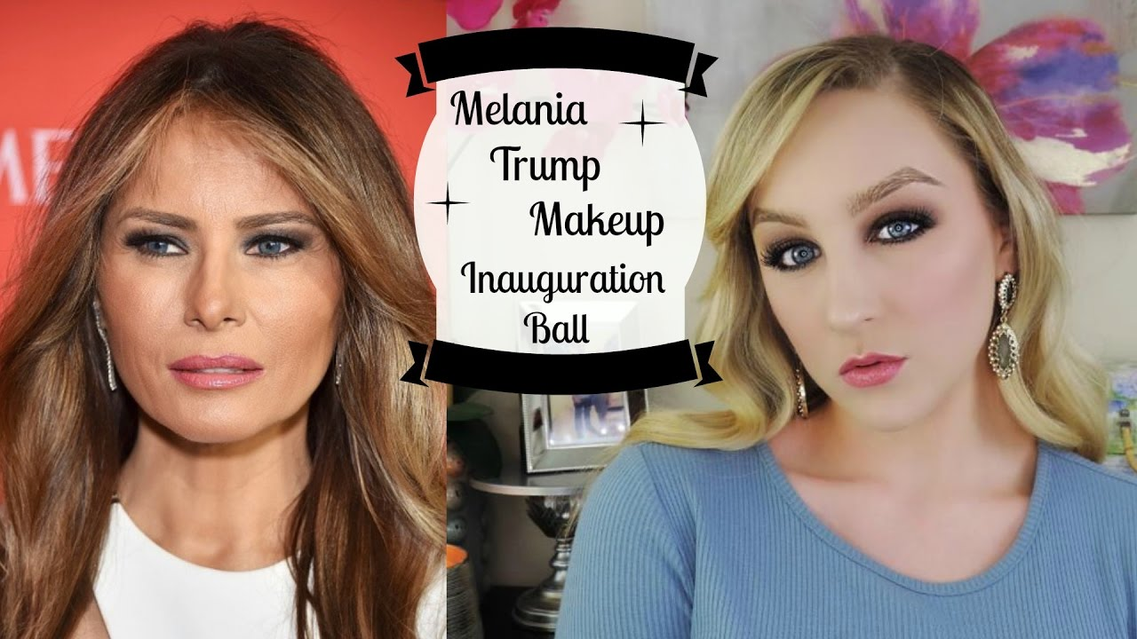 Melania Trump Makeup-Inauguration Ball - YouTube