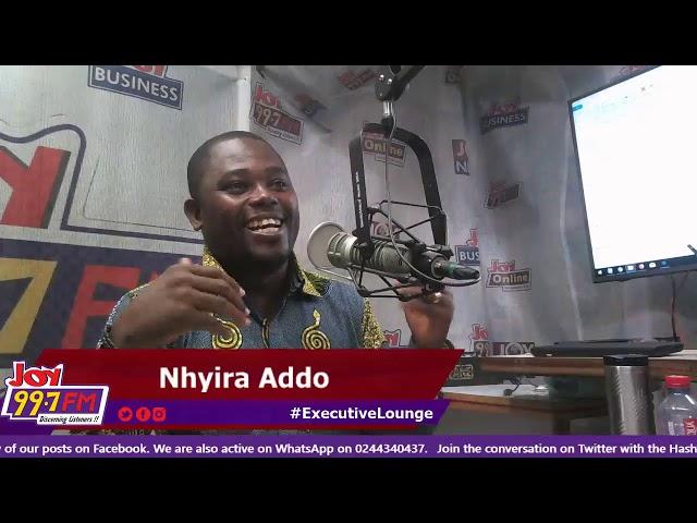 #ExecutiveLounge on Joy FM (8-1-19)