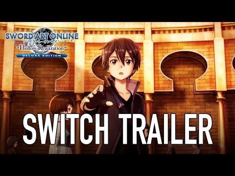Sword Art Online: Hollow Realization - Nintendo Switch - Trailer