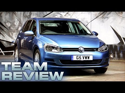 7th Generation Volkswagen Golf Team Review Fifth Gear
