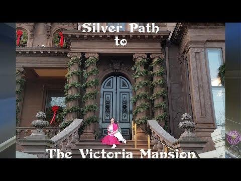 Victoria Mansion Maine Travel Vlog Silver Path