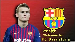 Matthijs de ligt | welcome to fc barcelona skill show 2019 hd