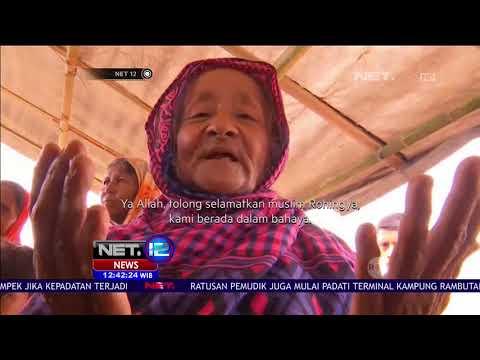 Kekerasan Brutal Terjadi di Rakhine, Ribuan Muslim Rohingya Mengungsi  NET 12
