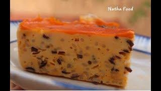 Chả hấp chay không trứng, dẻ chặt mềm mại rất ngon || bí quyết làm cơm tấm chay phần 1|| Natha Food