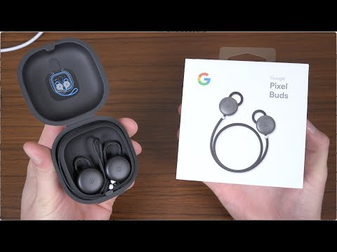 Thumbnail: Google Pixel Buds Unboxing!