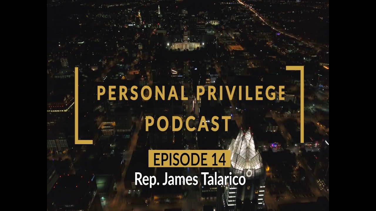 Personal Privilege with Rep. James Talarico