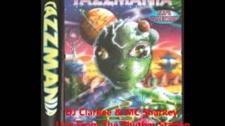 DJ Clarkee & MC Sharkey Tazzmania Alien Pack