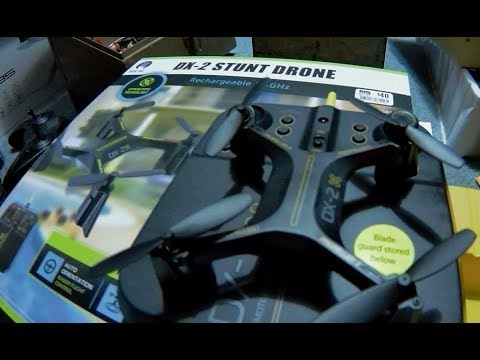 Sharper Image Dx 2 5 Inch Stunt Drone Rebranded Blue Hat Indoor