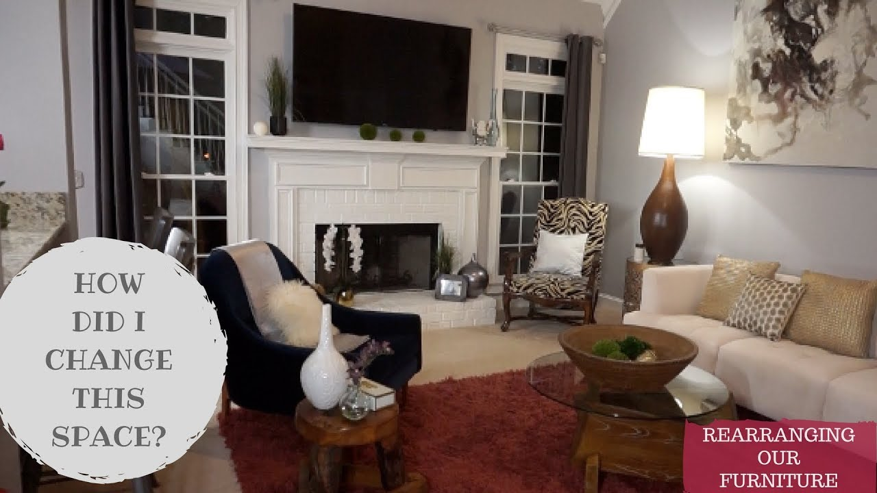 Rearranging Furniture Before And After REARRANGING FURNITURE TO MAKE ROOM LOOK BIGGER | HOW TO TIPS
