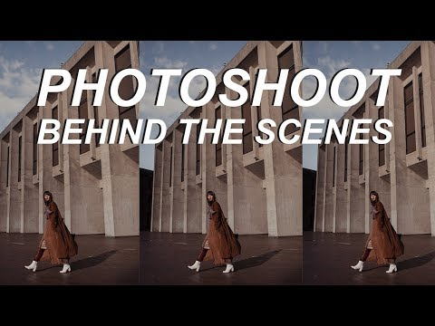 Photoshoot Behind The Scenes | Fashion Photographs 35mm Natural Light