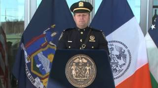 Mayor Bloomberg Cuts Ribbon on First New Police Precinct in Staten Island in More Than 50 Years