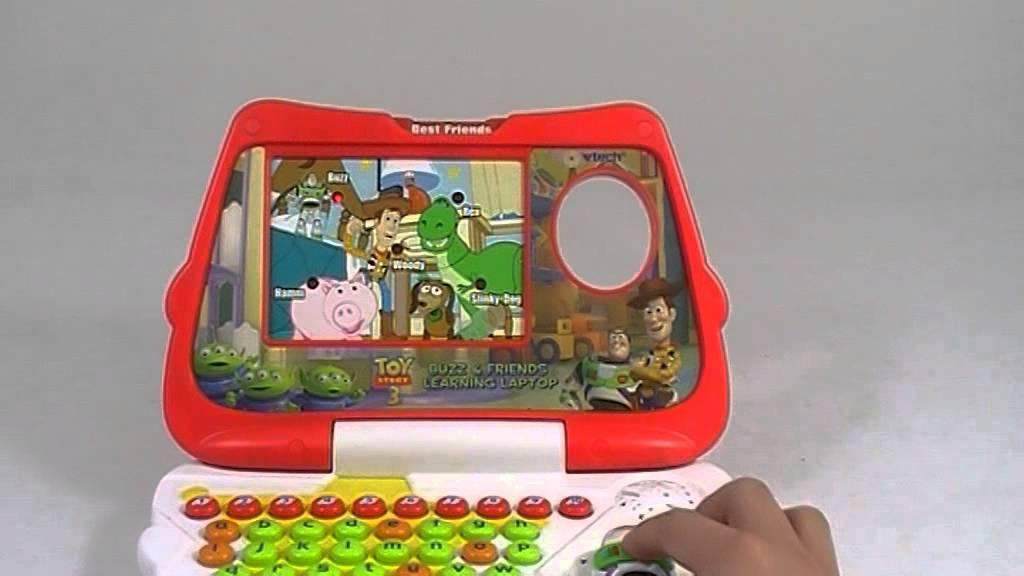 Zabawka Vtech Edukacyjna Laptop Toy Story 3259 Youtube