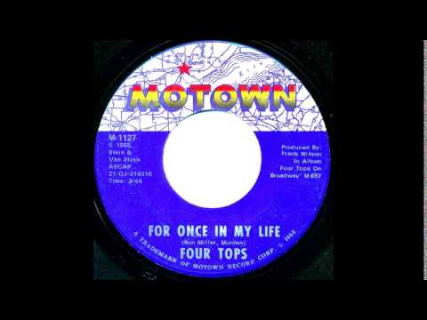 For Once In My Life - Four Tops '1968   Tamla Motown   M 1127 /  #665