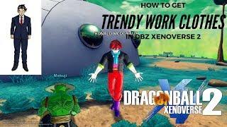 DRAGON BALL XENOVERSE 2 WHERE TO GET TRENDY WORK CLOTHES