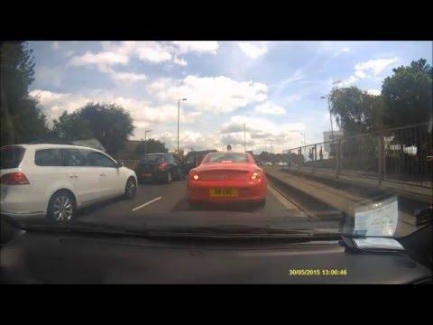 Road Rage in Waterlooville,  Hampshire UK