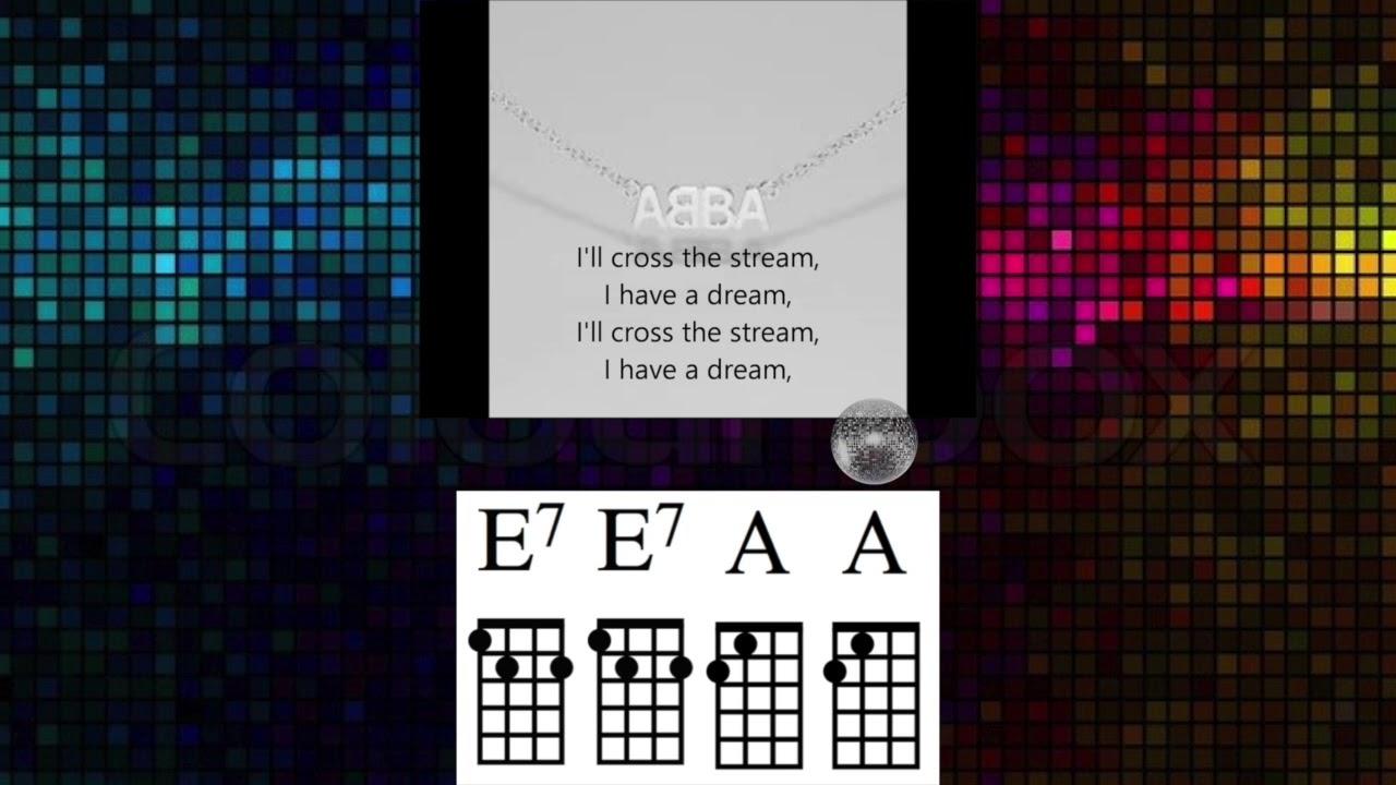 I have a dream abba ukulele play along youtube i have a dream abba ukulele play along hexwebz Choice Image