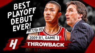 Download 20 Yr-OLD Derrick Rose GREATEST Playoff DEBUT EVER! Full Game 1 Highlights vs Celtics 2009 - 36 Pts! Mp3 and Videos