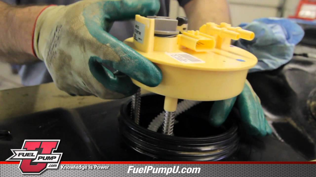 How to Install Fuel Pump E7187M in 2003 2004 Dodge Ram