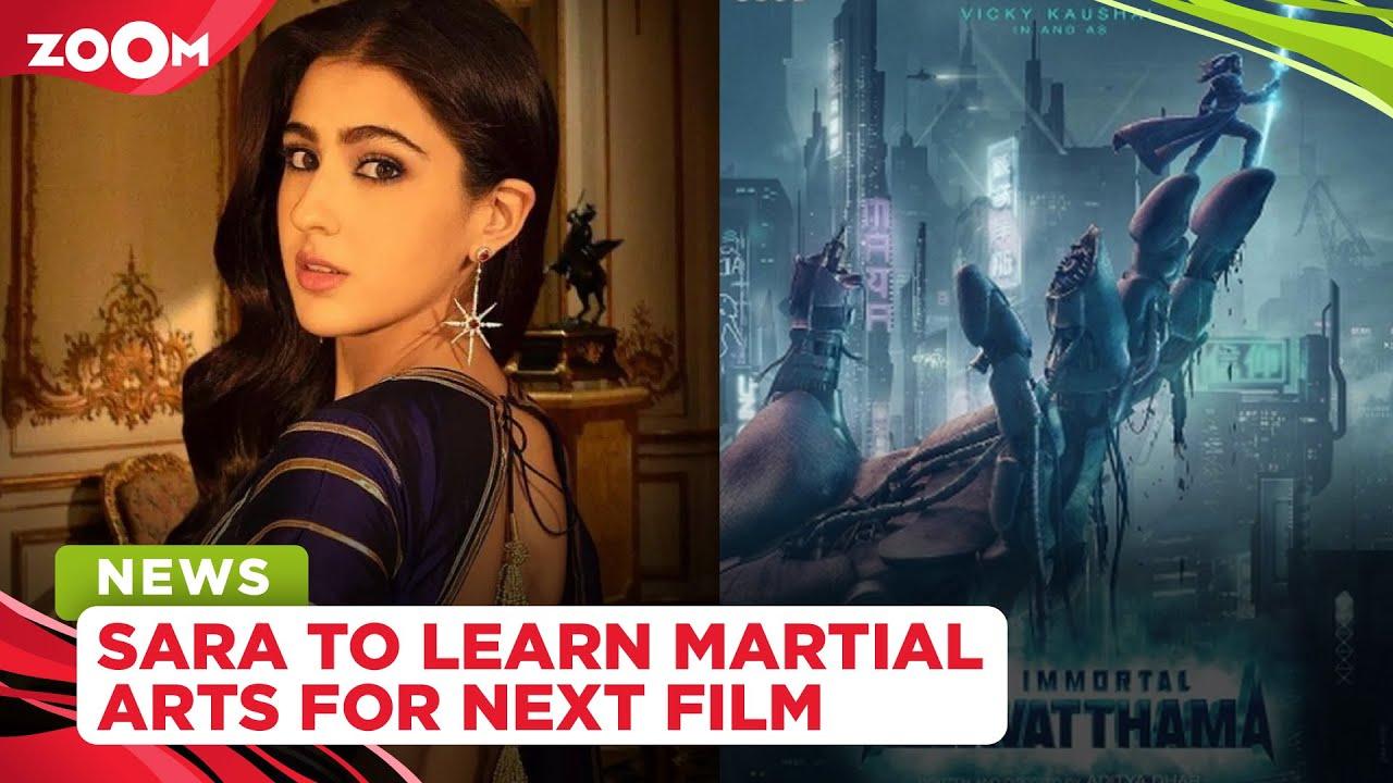 Sara Ali Khan to train in Martial Arts for Vicky Kaushal starrer The Immortal Ashwatthama