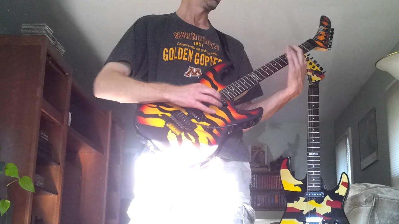 my george lynch esp ltd gl500t sunburst tiger youtube. Black Bedroom Furniture Sets. Home Design Ideas