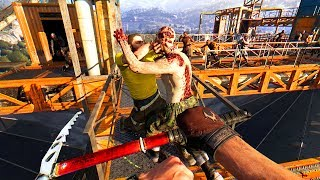 ZOMBIE HUNTER!! (Dying Light: The Following)