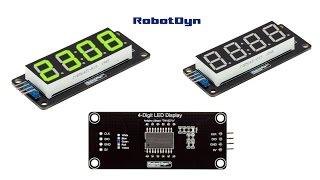 Дисплей TM1637 для Arduino