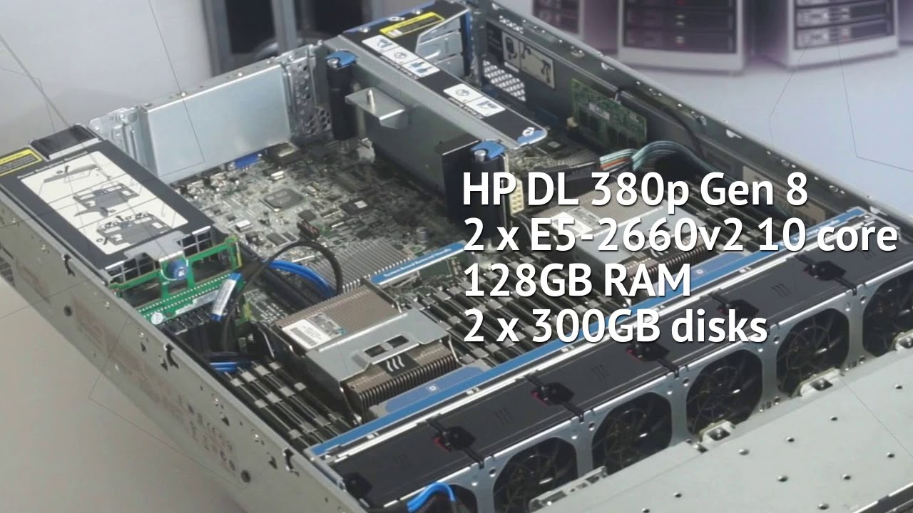 hp dl 380 g8