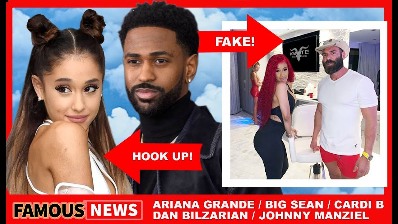 Who is hookup ariana grande now