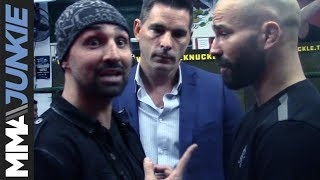 Paulie Malignaggi, Artem Lobov nearly brawl at BKFC media day in New York