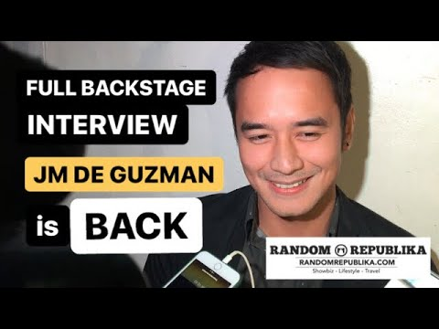 JM De Guzman is BACK | Career plans, Rated K tell-all interview, and ex-GF Jessy Mendiola