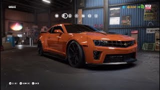 NFS Payback: Chevrolet Camero Z28 [Race Build]