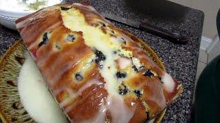 How To Make Blueberry Lemon Loaf