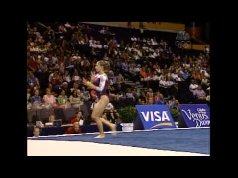 Courtney Kupets - Floor Exercise - 2004 U.S. Gymnastics Championships - Women - Day 1