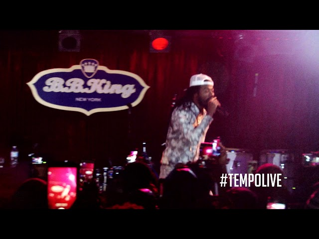 #TempoLive with Gyptian at BB Kings January 2018